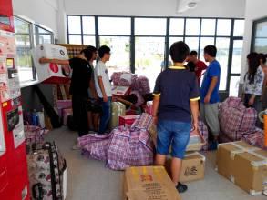 温州学生宿舍搬迁